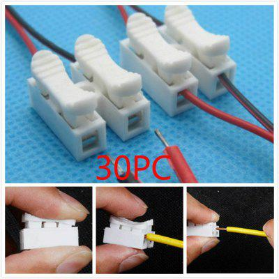 Press Type Fast 2 Bit CH-2 Wire Connectors CH Terminal Fire Retardant Socket