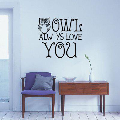 DSU English Letter Stickers Stickers for Room Decoration Proverbs
