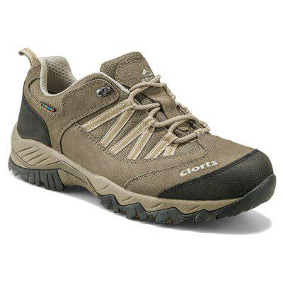 Clorts Hiking Shoes Zapatos impermeables al aire libre Caucho antideslizante Trekking Sports Sneakers