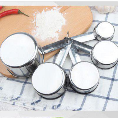 Kitchen Accessory Stainless Steel Measuring Cups 5pcsOther Kitchen Accessories<br>Kitchen Accessory Stainless Steel Measuring Cups 5pcs<br><br>Material: Stainless Steel<br>Package Contents: 1 x Measuring Cups Set of 5 PCS<br>Package size (L x W x H): 18.00 x 10.00 x 6.00 cm / 7.09 x 3.94 x 2.36 inches<br>Package weight: 0.2000 kg<br>Type: Other Kitchen Accessories