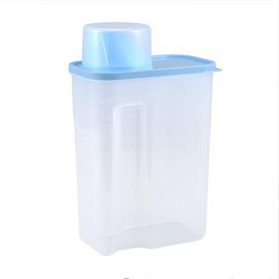 Plastic Storage Jar Grains Tea Kitchen Food Storage Box Bottle