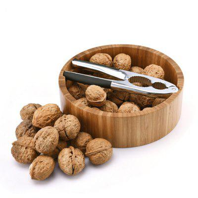 Aluminum Walnut Cracker Household  Sheller Storage Bamboo Bowl SetOther Kitchen Accessories<br>Aluminum Walnut Cracker Household  Sheller Storage Bamboo Bowl Set<br><br>Material: Stainless Steel, Bamboo<br>Package Contents: 1 x Walnut Sheller , 1 x Bamboo Bowl<br>Package size (L x W x H): 20.00 x 20.00 x 7.50 cm / 7.87 x 7.87 x 2.95 inches<br>Package weight: 0.8000 kg<br>Type: Other Kitchen Accessories