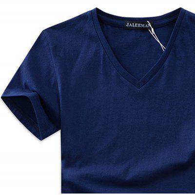 Mens New V-Neck Pure Color Short Sleeves T-ShirtMens T-shirts<br>Mens New V-Neck Pure Color Short Sleeves T-Shirt<br><br>Collar: V-Neck<br>Embellishment: Spliced<br>Fabric Type: Broadcloth<br>Material: Cotton, Polyester<br>Package Contents: 1x T-shirt<br>Pattern Type: Solid<br>Sleeve Length: Short<br>Style: Casual<br>Weight: 0.4000kg