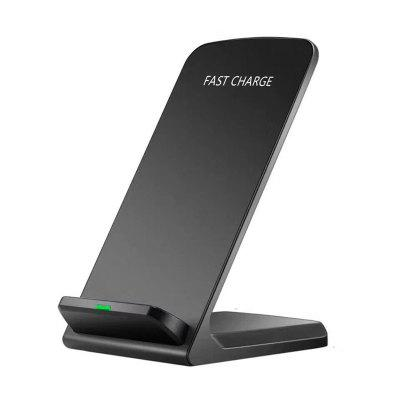 Qi Wireless Fast Charger Charging Stand Dock Pad para Samsung Galaxy S8 / S8 + / Nota 8 iPhone X / 8 Plus 8