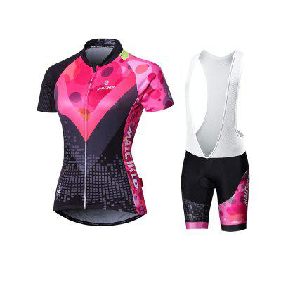 Malciklo 18 New Products Summer Cycling Jersey Bib Tights Woman Short  Bike Compression Suits Quick Dry