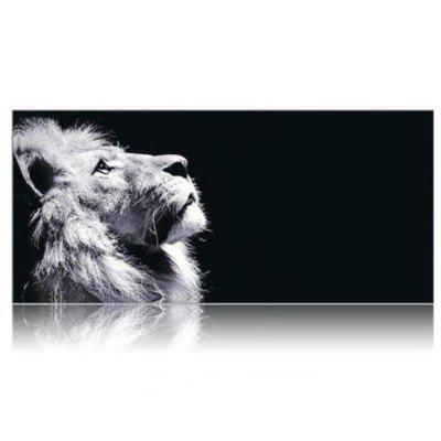 Lion Printed Large Gaming Mouse Pad for Desktop Laptop Supersize Pad