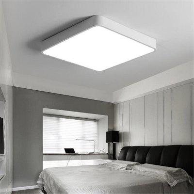 White Frame 36 Watts Super Thin LED Ceiling Light 50 x 50 Cm