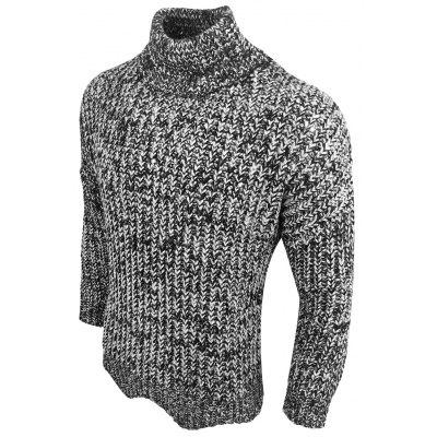 Autumn-Winter Coarse Wool Knit Collar Collar Long-Sleeved Primer PulloverMens Sweaters &amp; Cardigans<br>Autumn-Winter Coarse Wool Knit Collar Collar Long-Sleeved Primer Pullover<br><br>Collar: Stand-Up Collar<br>Hooded: No<br>Material: Acrylic<br>Package Contents: 1Xpullovers<br>Package size (L x W x H): 1.00 x 1.00 x 1.00 cm / 0.39 x 0.39 x 0.39 inches<br>Package weight: 0.3000 kg<br>Size1: M,L,XL,2XL,3XL<br>Sleeve Length: Full<br>Sleeve Style: Regular<br>Style: Casual<br>Technics: Computer Knitted<br>Thickness: Thick<br>Type: Pullovers