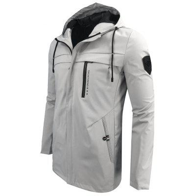 Autumn and Winter Hooded Fashion Casual Windproof Long JacketMens Jackets &amp; Coats<br>Autumn and Winter Hooded Fashion Casual Windproof Long Jacket<br><br>Clothes Type: Jackets<br>Collar: Hooded<br>Material: Polyester<br>Package Contents: 1XJacket<br>Season: Fall<br>Shirt Length: Regular<br>Sleeve Length: Long Sleeves<br>Style: Fashion<br>Weight: 0.4000kg