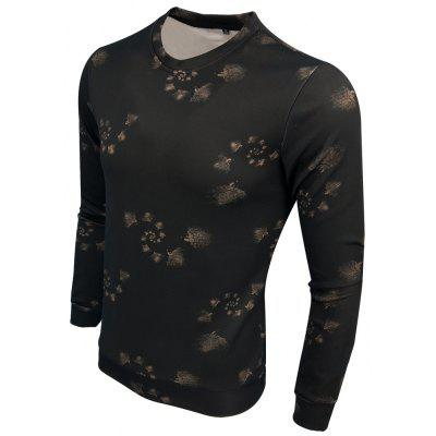 Spring and Autumn Round Neck Fashion Casual Long-Sleeved Printing Trend Slim SweatshirtMens Hoodies &amp; Sweatshirts<br>Spring and Autumn Round Neck Fashion Casual Long-Sleeved Printing Trend Slim Sweatshirt<br><br>Material: Cotton Blends<br>Package Contents: 1XSweatshirt<br>Shirt Length: Regular<br>Sleeve Length: Full<br>Style: Casual<br>Weight: 0.3000kg