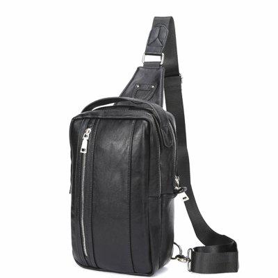 Men Soft Large Capacity Genuine  Chest BagCrossbody Bags<br>Men Soft Large Capacity Genuine  Chest Bag<br><br>Closure Type: Zipper<br>Gender: For Men<br>Handbag Type: Crossbody bag<br>Hardness: Soft<br>Interior: Interior Slot Pocket<br>Main Material: PU<br>Occasion: Versatile<br>Package Contents: 1 x bag<br>Package size (L x W x H): 28.00 x 17.00 x 6.00 cm / 11.02 x 6.69 x 2.36 inches<br>Package weight: 0.4500 kg<br>Pattern Type: Others<br>Style: Casual