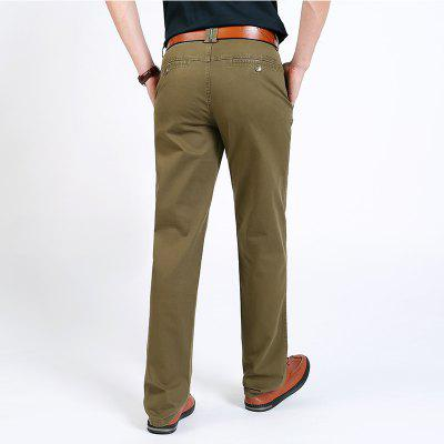 2018 Mens Casual Fashion PantsMens Pants<br>2018 Mens Casual Fashion Pants<br><br>Closure Type: Zipper Fly<br>Elasticity: Nonelastic<br>Fabric Type: Broadcloth<br>Fit Type: Straight<br>Length: Normal<br>Material: Cotton<br>Package Contents: 1 X Pants<br>Package size (L x W x H): 1.00 x 1.00 x 1.00 cm / 0.39 x 0.39 x 0.39 inches<br>Package weight: 0.5000 kg<br>Pant Style: Straight<br>Pattern Type: Others<br>Style: Casual<br>Waist Type: Mid