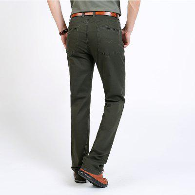 2018 Mens Casual  Fashio PantsMens Pants<br>2018 Mens Casual  Fashio Pants<br><br>Closure Type: Zipper Fly<br>Elasticity: Nonelastic<br>Fabric Type: Broadcloth<br>Fit Type: Straight<br>Length: Normal<br>Material: Cotton<br>Package Contents: 1 X Pants<br>Package size (L x W x H): 1.00 x 1.00 x 1.00 cm / 0.39 x 0.39 x 0.39 inches<br>Package weight: 0.2000 kg<br>Pant Style: Straight<br>Pattern Type: Others<br>Style: Casual<br>Waist Type: Mid