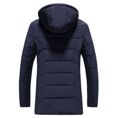 2018 Mens Fashion Trend Zipper Cotton ClothingMens Jackets &amp; Coats<br>2018 Mens Fashion Trend Zipper Cotton Clothing<br><br>Clothes Type: Padded<br>Materials: Polyester<br>Package Content: 1 X Coat<br>Package size (L x W x H): 1.00 x 1.00 x 1.00 cm / 0.39 x 0.39 x 0.39 inches<br>Package weight: 0.5000 kg<br>Size1: M,L,XL,4XL,2XL,3XL