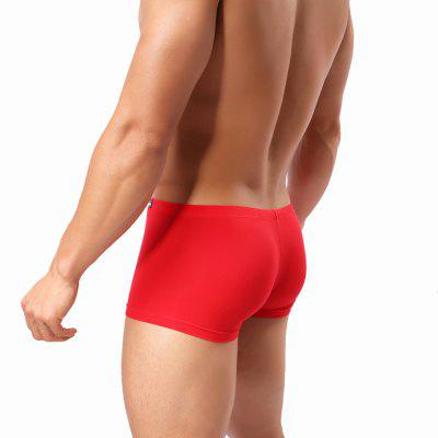 Mens Underwear Thin Translucent SilkMens Underwear &amp; Pajamas<br>Mens Underwear Thin Translucent Silk<br><br>Feature: Breathable<br>Item Type: Low Waist Underwear<br>Material: Spandex<br>Package Contents: 1 x Briefs<br>Package size (L x W x H): 1.00 x 1.00 x 1.00 cm / 0.39 x 0.39 x 0.39 inches<br>Package weight: 0.0350 kg<br>Pattern Type: Solid<br>Waist Type: Low