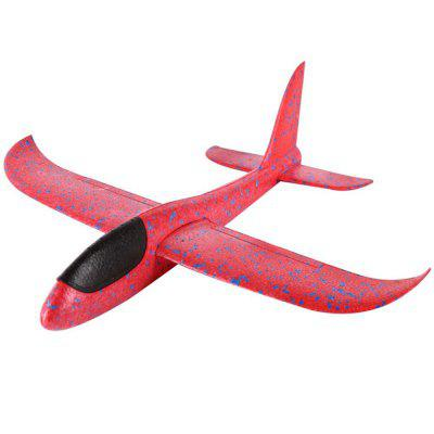 Buy RED Super Durable Throwing Glider Inertia Plane Foam Aircraft Toy Hand Launch Airplane Model Outdoor Sports Toy for Kids for $5.99 in GearBest store