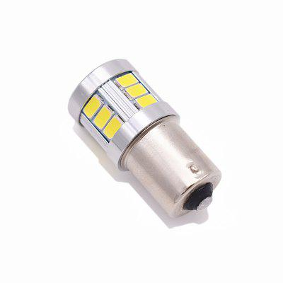 2PCS Top Lens Design BA15S 1156 LED Brake Light 9W 720LM Samsung LED Stop Light WhiteCar Headlights<br>2PCS Top Lens Design BA15S 1156 LED Brake Light 9W 720LM Samsung LED Stop Light White<br><br>Apply lamp position: External Lights<br>Apply To Car Brand: Universal<br>Color temperatures: 6000K<br>Connector: BA15S(1156)<br>Emitting color: White<br>Feature: Spotlight<br>Identification: CE<br>LED Type: SMD 5630<br>LED/Bulb quantity: 18<br>Light mode: Steady<br>Lumens: 720<br>Material: Electronic Components<br>Package Contents: 2 x 1156 Brake Lights<br>Package size (L x W x H): 4.00 x 2.00 x 4.00 cm / 1.57 x 0.79 x 1.57 inches<br>Package weight: 0.0350 kg<br>Power: 9W<br>Product size (L x W x H): 3.80 x 1.80 x 1.80 cm / 1.5 x 0.71 x 0.71 inches<br>Product weight: 0.0300 kg<br>Type: Brake Light<br>Type of lamp-house: LED<br>Voltage: 12V DC