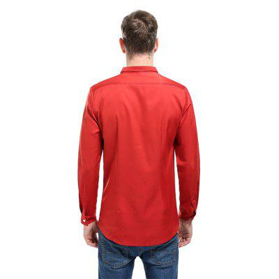 Man Style and Pure Color ShirtMens Shirts<br>Man Style and Pure Color Shirt<br><br>Collar: Turn-down Collar<br>Fabric Type: Polyester<br>Material: Polyester<br>Package Contents: 1 xShirt<br>Shirts Type: Casual Shirts<br>Sleeve Length: Full<br>Weight: 0.2500kg
