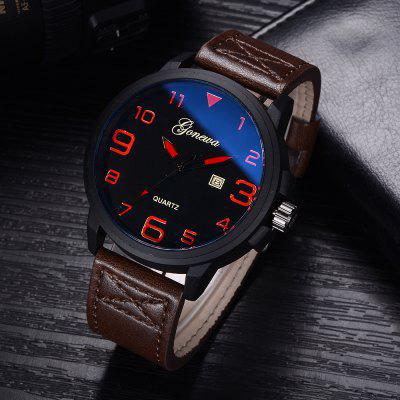 GON009 Men Casual Big Face Leather Simple Wrist WatchMens Watches<br>GON009 Men Casual Big Face Leather Simple Wrist Watch<br><br>Band material: PU Leather<br>Band size: 26 x 2.4 CM<br>Case material: Alloy<br>Clasp type: Pin buckle<br>Dial size: 4.7 x 4.7 x 1.1 CM<br>Display type: Analog<br>Movement type: Quartz watch<br>Package Contents: 1 x Watch<br>Package size (L x W x H): 29.00 x 6.50 x 1.20 cm / 11.42 x 2.56 x 0.47 inches<br>Package weight: 0.0630 kg<br>Product size (L x W x H): 26.00 x 4.70 x 1.10 cm / 10.24 x 1.85 x 0.43 inches<br>Product weight: 0.0610 kg<br>Shape of the dial: Round<br>Special features: Day<br>Watch mirror: Mineral glass<br>Watch style: Trends in outdoor sports, Retro, Business, Fashion, Casual<br>Watches categories: Men