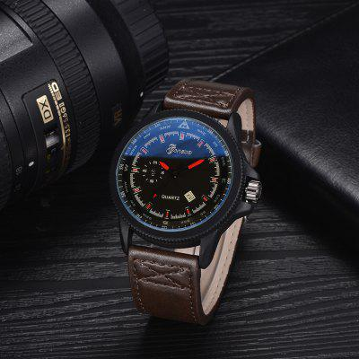 GON033 Men Classic Leather Band Wrist WatchMens Watches<br>GON033 Men Classic Leather Band Wrist Watch<br><br>Band material: PU Leather<br>Band size: 25.5 x 2.4 CM<br>Case material: Alloy<br>Clasp type: Pin buckle<br>Dial size: 4.6 x 4.6 x 1.1 CM<br>Display type: Analog<br>Movement type: Quartz watch<br>Package Contents: 1 x Watch<br>Package size (L x W x H): 29.00 x 6.50 x 1.20 cm / 11.42 x 2.56 x 0.47 inches<br>Package weight: 0.0620 kg<br>Product size (L x W x H): 25.50 x 4.60 x 1.10 cm / 10.04 x 1.81 x 0.43 inches<br>Product weight: 0.0600 kg<br>Shape of the dial: Round<br>Special features: Day<br>Watch mirror: Mineral glass<br>Watch style: Trends in outdoor sports, Retro, Business, Fashion, Casual<br>Watches categories: Men