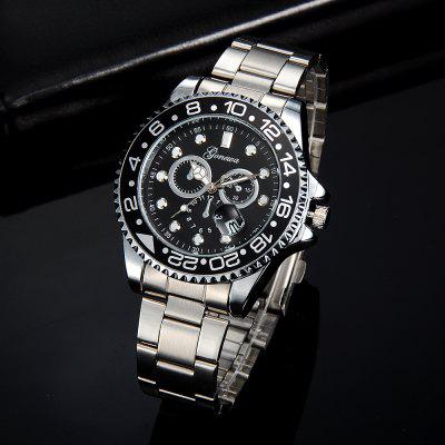 GON036 Men Classic Metal Band Quartz WatchMens Watches<br>GON036 Men Classic Metal Band Quartz Watch<br><br>Band material: Zinc Alloy<br>Band size: 24.5 x 1.8 CM<br>Case material: Alloy<br>Clasp type: Folding clasp with safety<br>Dial size: 4.5 x 4.5 x 1.1 CM<br>Display type: Analog<br>Movement type: Quartz watch<br>Package Contents: 1 x Watch<br>Package size (L x W x H): 13.50 x 6.00 x 1.20 cm / 5.31 x 2.36 x 0.47 inches<br>Package weight: 0.1060 kg<br>Product size (L x W x H): 24.50 x 4.50 x 1.10 cm / 9.65 x 1.77 x 0.43 inches<br>Product weight: 0.1040 kg<br>Shape of the dial: Round<br>Special features: Day<br>Watch mirror: Mineral glass<br>Watch style: Business, Trends in outdoor sports, Fashion, Casual<br>Watches categories: Men
