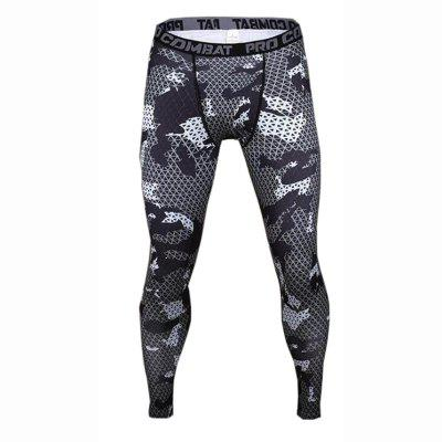 Men's Safety Casual Tights Bottoms Yoga Running Jogging Exercise Pants