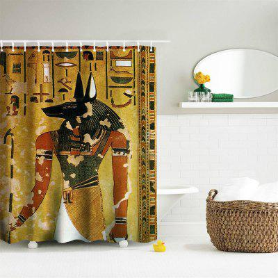 Anubis Polyester Shower Curtain Bathroom  High Definition 3D Printing Water-ProofShower Curtain<br>Anubis Polyester Shower Curtain Bathroom  High Definition 3D Printing Water-Proof<br><br>Package Contents: 1 x Shower Curtain , 1 x Set of Hooks<br>Package size (L x W x H): 26.00 x 18.00 x 3.00 cm / 10.24 x 7.09 x 1.18 inches<br>Package weight: 0.4500 kg