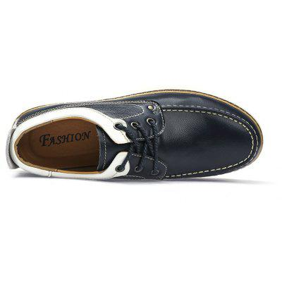 Four Seasons Leather Rubber Sole Casual ShoesMen's Oxford<br>Four Seasons Leather Rubber Sole Casual Shoes<br><br>Available Size: 41 42 43 44<br>Closure Type: Lace-Up<br>Embellishment: Fur<br>Gender: For Men<br>Outsole Material: Rubber<br>Package Contents: 1xshoes(pair)<br>Pattern Type: Striped<br>Season: Summer<br>Toe Shape: Round Toe<br>Toe Style: Closed Toe<br>Upper Material: Full Grain Leather<br>Weight: 1.6896kg