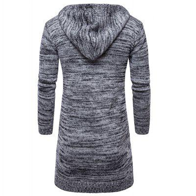 Casual Sweater Long Cardigan Trendy Slim Fit KnitwearMens Sweaters &amp; Cardigans<br>Casual Sweater Long Cardigan Trendy Slim Fit Knitwear<br><br>Closure Type: None<br>Collar: Turn-down Collar<br>Hooded: Yes<br>Material: Cotton<br>Package Contents: 1XCardigan<br>Package size (L x W x H): 1.00 x 1.00 x 1.00 cm / 0.39 x 0.39 x 0.39 inches<br>Package weight: 0.7800 kg<br>Pattern Type: Solid<br>Product weight: 0.7700 kg<br>Size1: M,L,XL,2XL<br>Sleeve Length: Full<br>Sleeve Style: Regular<br>Style: Casual<br>Technics: Computer Knitted<br>Thickness: Standard<br>Type: Cardigans<br>Wool: Standard Wool