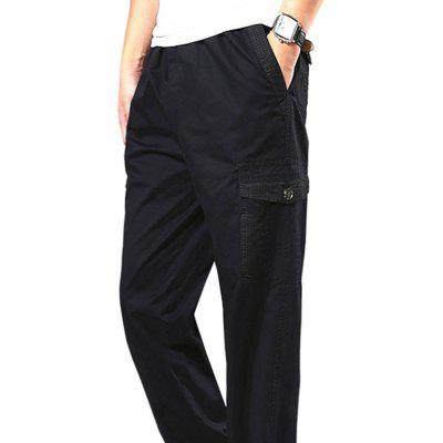 Casual Elastic Waist Multi-Pocket Large TrousersMens Pants<br>Casual Elastic Waist Multi-Pocket Large Trousers<br><br>Closure Type: Elastic Waist<br>Elasticity: Elastic<br>Fabric Type: Broadcloth<br>Fit Type: Straight<br>Front Style: Flat<br>Length: Normal<br>Material: Cotton<br>Package Contents: 1XPant<br>Package size (L x W x H): 1.00 x 1.00 x 1.00 cm / 0.39 x 0.39 x 0.39 inches<br>Package weight: 0.4400 kg<br>Pant Style: Straight<br>Pattern Type: Patchwork<br>Product weight: 0.4300 kg<br>Style: Casual<br>Thickness: Thin<br>Waist Type: Mid<br>Wash: Light<br>With Belt: No