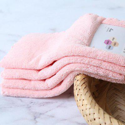 4 Pcs Face Towels Thickened Soft Water Absorption Baby Face Towels