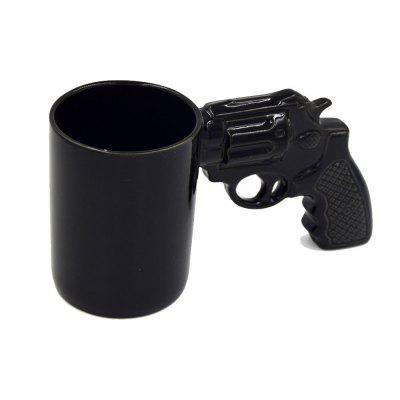 Gearbest Creative Revolver Milk Coffee Mug