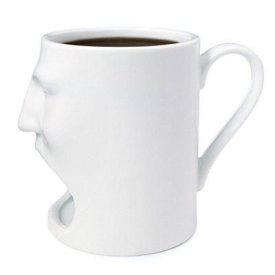 Creative Face Cookie Ceramic Mug