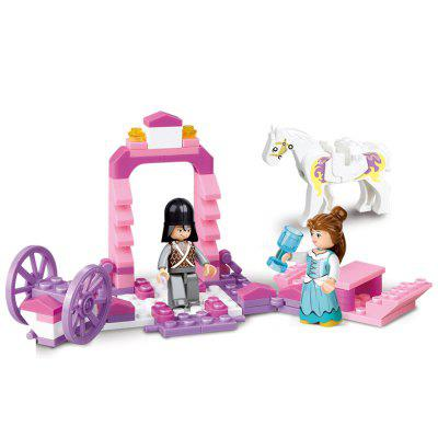 Sluban Building Blocks Educational Kids Toy The Princess Carriage of Friends 99PCSBlock Toys<br>Sluban Building Blocks Educational Kids Toy The Princess Carriage of Friends 99PCS<br><br>Brand: Sluban<br>Gender: Boys,Girls<br>Materials: Plastic, ABS<br>Package Contents: 1 x Product, 1 x Color Box, 1 x English Instruction Manual<br>Package size: 19.00 x 14.00 x 4.50 cm / 7.48 x 5.51 x 1.77 inches<br>Package weight: 0.3000 kg<br>Suitable Age: Adults,Kid<br>Theme: Vehicle,Buildings<br>Type: Building, Construction