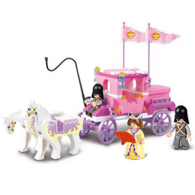 Sluban Building Blocks Educational Kids Toy Royal Carriage of Friends 137PCS