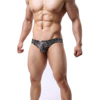 Mens Underwear Leopard Low Waist Pouch Sexy  BriefsMens Underwear &amp; Pajamas<br>Mens Underwear Leopard Low Waist Pouch Sexy  Briefs<br><br>Decoration: Pattern<br>Feature: Breathable<br>Item Type: Low Waist Underwear<br>Material: Polyester<br>Package Contents: 1  x  Briefs<br>Package size (L x W x H): 1.00 x 1.00 x 1.00 cm / 0.39 x 0.39 x 0.39 inches<br>Package weight: 0.0300 kg<br>Pattern Type: Leopard<br>Size: L,M,XL,XXL<br>Waist Type: Low