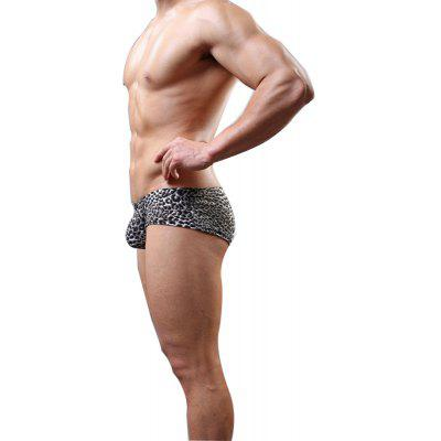 Male Underwear and Leopard Grain Small Waist Fashion Sexy PantsMens Underwear &amp; Pajamas<br>Male Underwear and Leopard Grain Small Waist Fashion Sexy Pants<br><br>Material: Nylon<br>Package Contents: 1  x  briefs<br>Package size (L x W x H): 1.00 x 1.00 x 1.00 cm / 0.39 x 0.39 x 0.39 inches<br>Package weight: 0.0300 kg<br>Pattern Type: Leopard<br>Waist Type: Low