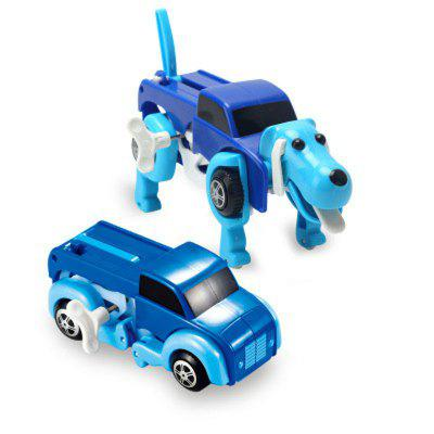 New Automatic Transform Dog Car Vehicle Clockwork Wind Up Toy for ChildrenClassic Toys<br>New Automatic Transform Dog Car Vehicle Clockwork Wind Up Toy for Children<br><br>Age: Above 3 Years<br>Material: Plastic<br>Package Contents: 1 x Toy Set<br>Package size (L x W x H): 14.00 x 10.00 x 14.00 cm / 5.51 x 3.94 x 5.51 inches<br>Package weight: 0.2600 kg<br>Product weight: 0.1900 kg<br>Type: Wind Up Toys