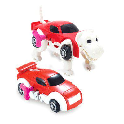 New Automatic Transform Dinosaur Car Vehicle Clockwork Wind Up Toy for ChildrenClassic Toys<br>New Automatic Transform Dinosaur Car Vehicle Clockwork Wind Up Toy for Children<br><br>Age: Above 3 Years<br>Material: Plastic<br>Package Contents: 1 x Toy Set<br>Package size (L x W x H): 14.00 x 10.00 x 14.00 cm / 5.51 x 3.94 x 5.51 inches<br>Package weight: 0.2600 kg<br>Product weight: 0.1900 kg<br>Type: Wind Up Toys