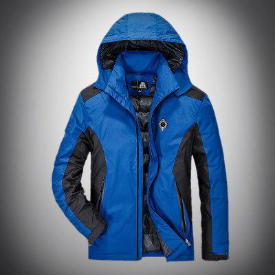 MenS Casual Down Jackets and Wind-Proof Camping Outdoor Thermal CoatsMens Jackets &amp; Coats<br>MenS Casual Down Jackets and Wind-Proof Camping Outdoor Thermal Coats<br><br>Closure Type: Zipper<br>Clothes Type: Down &amp; Parkas<br>Collar: Hooded<br>Detachable Part: Hat Detachable<br>Filling: White Duck Down<br>Materials: Chinlon<br>Package Content: 1 x Coat<br>Package size (L x W x H): 1.00 x 1.00 x 1.00 cm / 0.39 x 0.39 x 0.39 inches<br>Package weight: 1.2000 kg<br>Size1: M,L,XL,4XL,2XL,3XL<br>Sleeve Style: Regular<br>Style: Casual<br>Technics: Printed<br>Thickness: Thickening