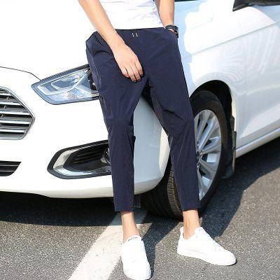 BYF8895 Mens Cropped Pants Solid Color Cotton Blends Cozy Casual PantsMens Pants<br>BYF8895 Mens Cropped Pants Solid Color Cotton Blends Cozy Casual Pants<br><br>Closure Type: Elastic Waist<br>Elasticity: Super-elastic<br>Fabric Type: Oxford<br>Fit Type: Skinny<br>Length: Ninth<br>Material: Polyester<br>Package Contents: 1 X pants<br>Package size (L x W x H): 1.00 x 1.00 x 1.00 cm / 0.39 x 0.39 x 0.39 inches<br>Package weight: 0.3000 kg<br>Pant Style: Pencil Pants<br>Pattern Type: Solid<br>Style: Casual<br>Waist Type: Mid