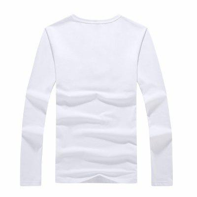MYY1304 Mens Long Sleeved Printed T - ShirtsMens T-shirts<br>MYY1304 Mens Long Sleeved Printed T - Shirts<br><br>Collar: Round Neck<br>Material: Cotton, Polyester<br>Package Contents: 1 X T - shirts<br>Pattern Type: Print<br>Sleeve Length: Full<br>Style: Casual<br>Weight: 0.3000kg