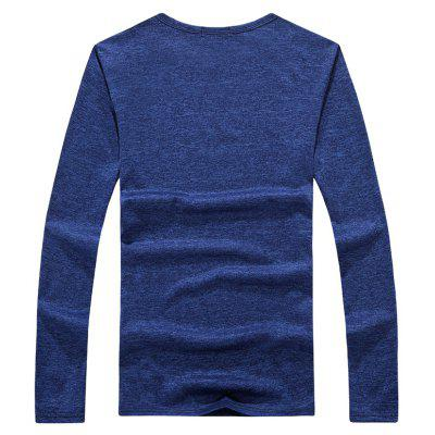 MYY1306 Mens T Shirt Long Sleeve Letter Print Cotton Blends Comfy T ShirtMens T-shirts<br>MYY1306 Mens T Shirt Long Sleeve Letter Print Cotton Blends Comfy T Shirt<br><br>Collar: Round Neck<br>Material: Cotton, Spandex<br>Package Contents: 1 X T - shirts<br>Pattern Type: Print<br>Sleeve Length: Full<br>Style: Casual<br>Weight: 0.3000kg