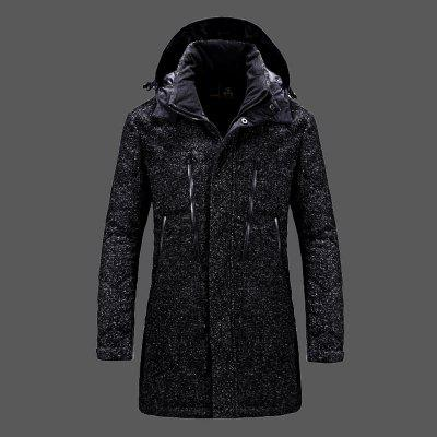 Solid Color Thicken Windbreaker Casual Style CoatMens Jackets &amp; Coats<br>Solid Color Thicken Windbreaker Casual Style Coat<br><br>Closure Type: Zipper<br>Clothes Type: Padded<br>Collar: Hooded<br>Color Style: Solid<br>Detachable Part: Hat Detachable<br>Materials: Polyester<br>Package Content: 1 x Coat<br>Package size (L x W x H): 1.00 x 1.00 x 1.00 cm / 0.39 x 0.39 x 0.39 inches<br>Package weight: 1.5000 kg<br>Size1: M,L,XL,2XL,3XL<br>Sleeve Style: Regular<br>Style: Casual<br>Thickness: Thickening