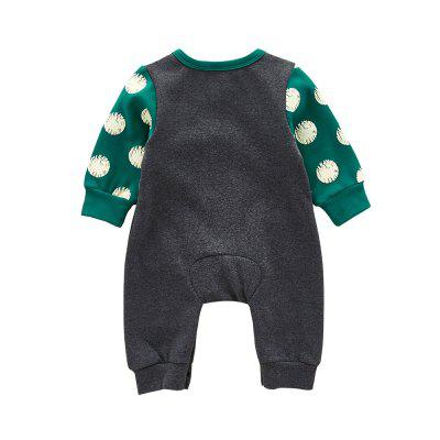 Cartoon Owl with A Jumpsuitbaby rompers<br>Cartoon Owl with A Jumpsuit<br><br>Closure Type: Pullover<br>Collar: Round Neck<br>Gender: Unisex<br>Material: Cotton, Cotton Blend<br>Package Contents: 1 x Jumpsuits<br>Pattern Style: Character<br>Season: Spring<br>Sleeve Length: Full<br>Thickness: General<br>Weight: 0.3000kg
