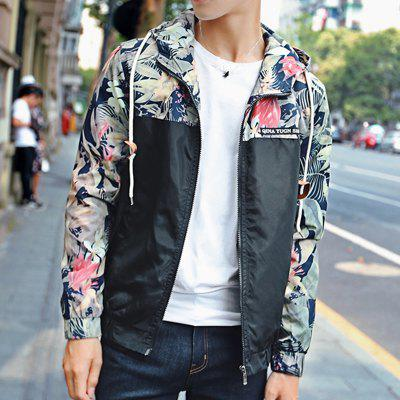 Floral Bomber Jacket Men Hip Hop Slim Fit Flowers Pilot Bomber JacketMens Jackets &amp; Coats<br>Floral Bomber Jacket Men Hip Hop Slim Fit Flowers Pilot Bomber Jacket<br><br>Clothes Type: Jackets<br>Collar: Hooded<br>Fabric Type: Broadcloth<br>Material: Polyester<br>Package Contents: 1 x jacket<br>Season: Spring, Fall<br>Shirt Length: Regular<br>Sleeve Length: Long Sleeves<br>Style: Casual<br>Weight: 0.4000kg