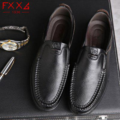 Single Shoe  Casual Leather ShoesMen's Oxford<br>Single Shoe  Casual Leather Shoes<br><br>Available Size: 37?38?39?40?41?42?43?45?46?47<br>Closure Type: Slip-On<br>Embellishment: Letter<br>Gender: For Men<br>Outsole Material: Rubber<br>Package Contents: 1xshoes(pair)<br>Pattern Type: Solid<br>Season: Summer, Winter, Spring/Fall<br>Toe Shape: Round Toe<br>Toe Style: Closed Toe<br>Upper Material: Genuine Leather<br>Weight: 1.5600kg