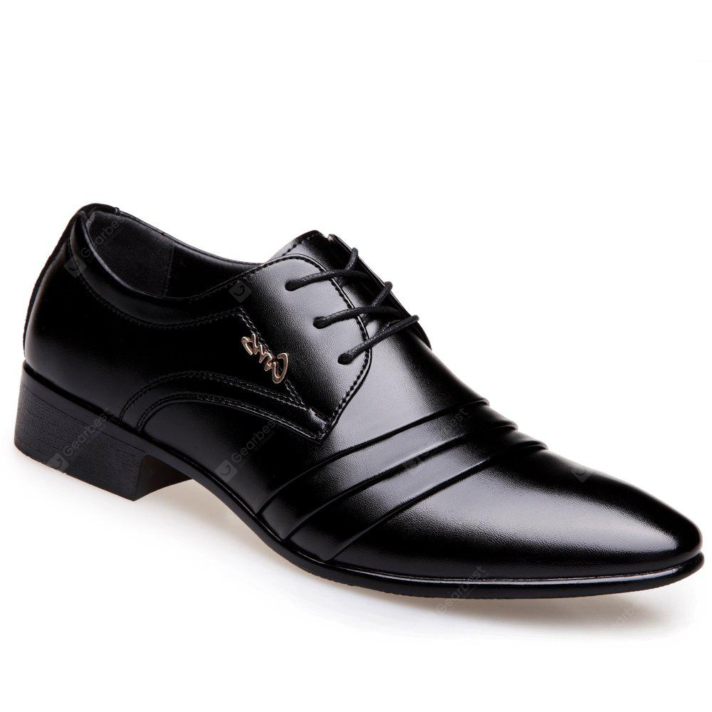 Business Leisure Leather Single Shoes