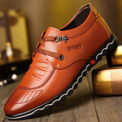 Fashion Sneakers for Leather ShoesMen's Oxford<br>Fashion Sneakers for Leather Shoes<br><br>Available Size: 38?39?40?41?42?43?44<br>Closure Type: Elastic band<br>Embellishment: Letter<br>Gender: For Men<br>Outsole Material: Rubber<br>Package Contents: 1xshoes(pair)<br>Pattern Type: Solid<br>Season: Summer, Winter, Spring/Fall<br>Toe Shape: Round Toe<br>Toe Style: Closed Toe<br>Upper Material: Microfiber<br>Weight: 1.5600kg