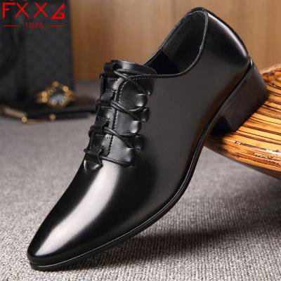 Top Leather Shoes Business Casual ShoesFormal Shoes<br>Top Leather Shoes Business Casual Shoes<br><br>Available Size: 38?39?40?41?42?43?44<br>Closure Type: Slip-On<br>Embellishment: None<br>Gender: For Men<br>Outsole Material: Rubber<br>Package Contents: 1xshoes(pair)<br>Pattern Type: Solid<br>Season: Summer, Winter, Spring/Fall<br>Toe Shape: Pointed Toe<br>Toe Style: Closed Toe<br>Upper Material: PU<br>Weight: 1.5600kg